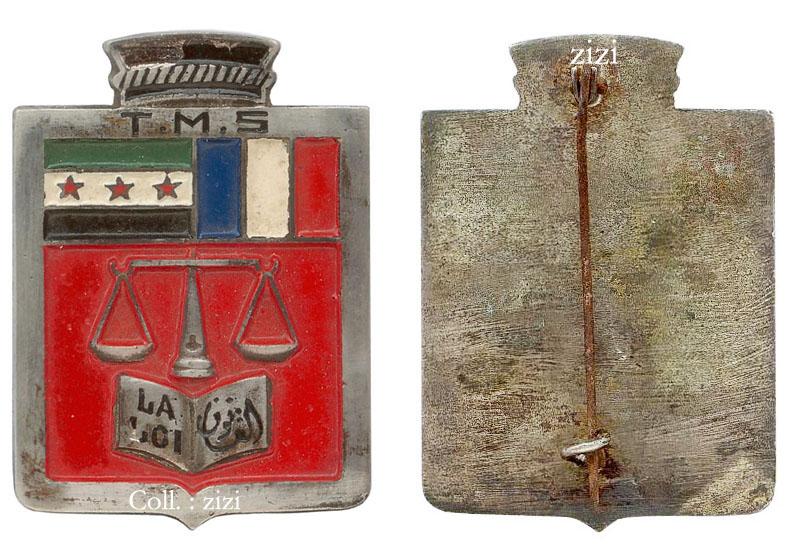 Prévôté du Détachement français de Palestine Tribun10