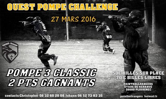 ouest pompe challenge 2016  Alpha110