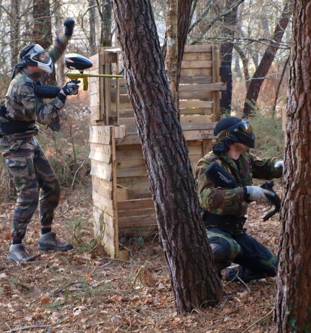 6 et 7 mars, rigolons dans les bois  Bunker14