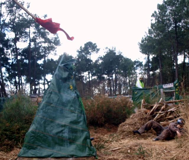 14 mars : test du nouveau terrain Lancer10