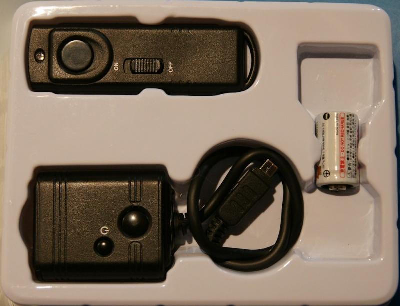 Vends télécommande sans fil neuve pour Olympus Teleco10