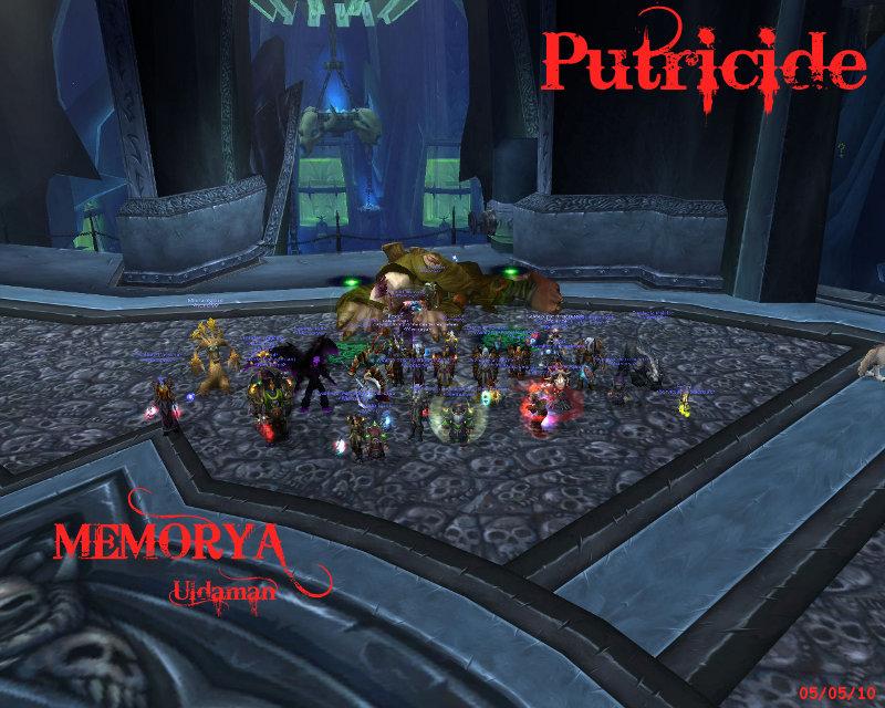 Sanctuaire de la guilde Memorya - Portail Putric10