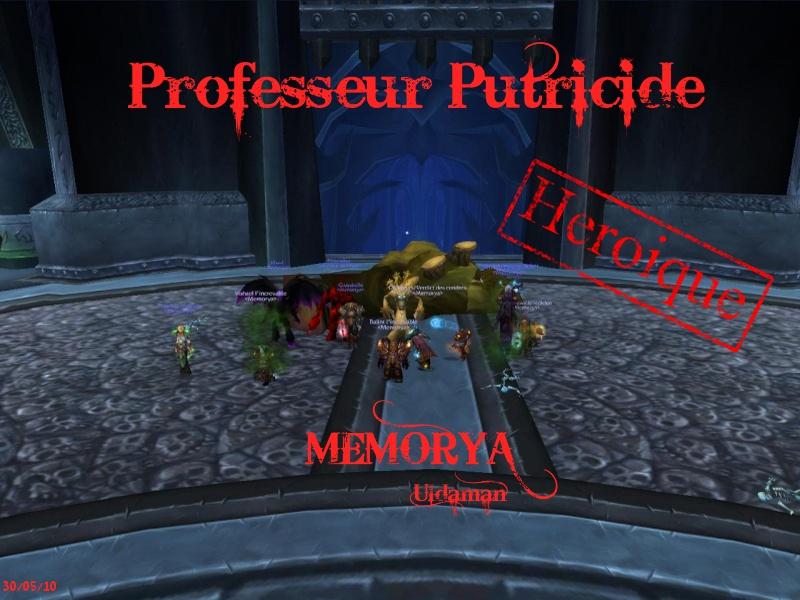 Sanctuaire de la guilde Memorya - Portail Putric11
