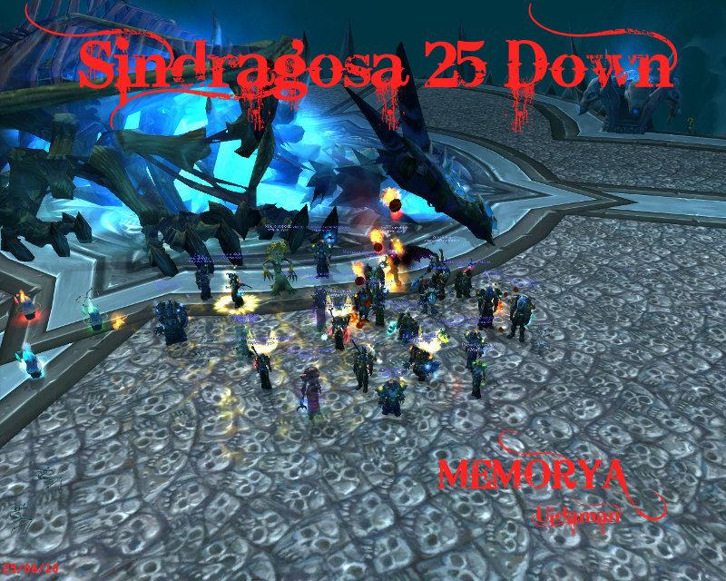 Sanctuaire de la guilde Memorya - Portail Sindra11