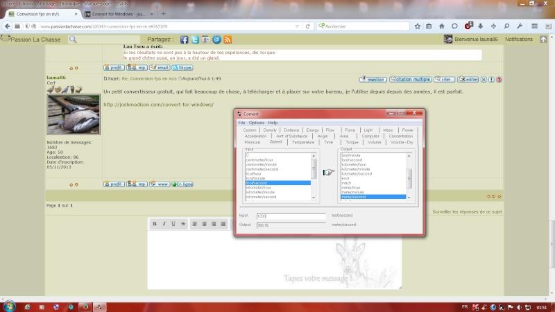 Conversion fps en m/s Sans_t25