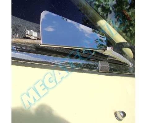Deflecteur INOX pour bras d'essuie-glace Renault ou autre... Ua011010