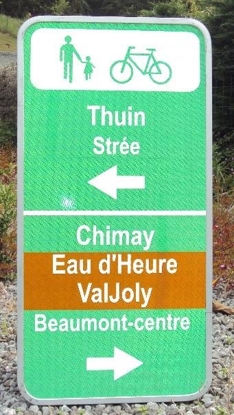Liaison Voie verte de l'Avesnois - RAVeL L109 Beaumont.  Beaumo10