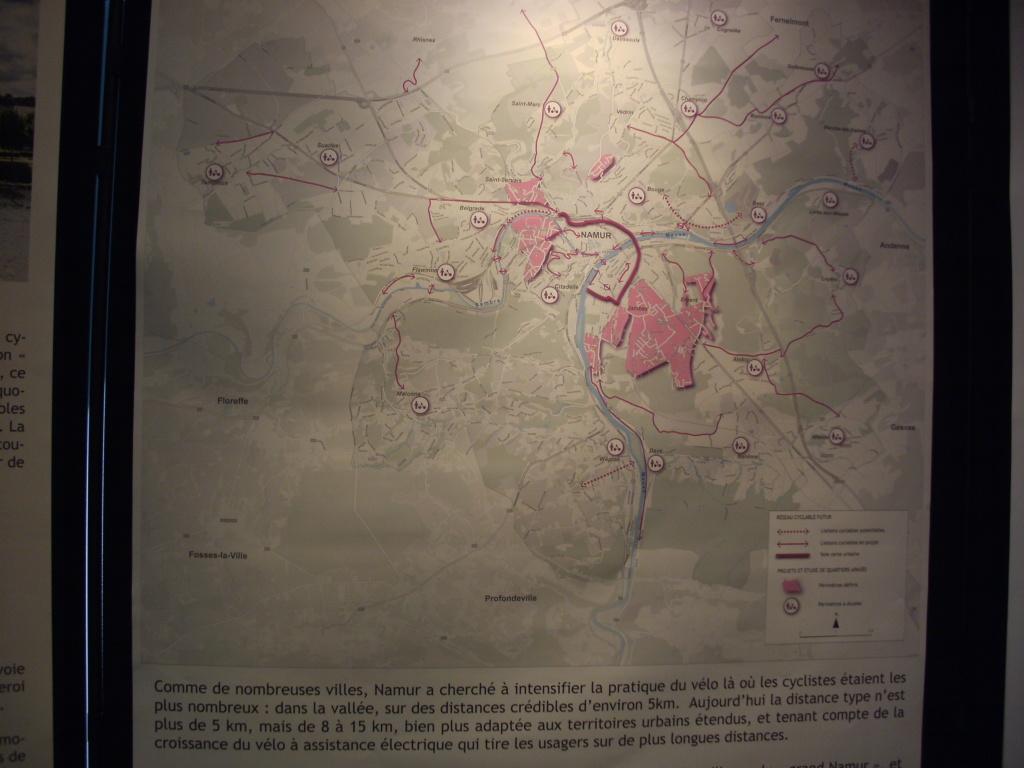 Itinéraires à Namur Reseau11