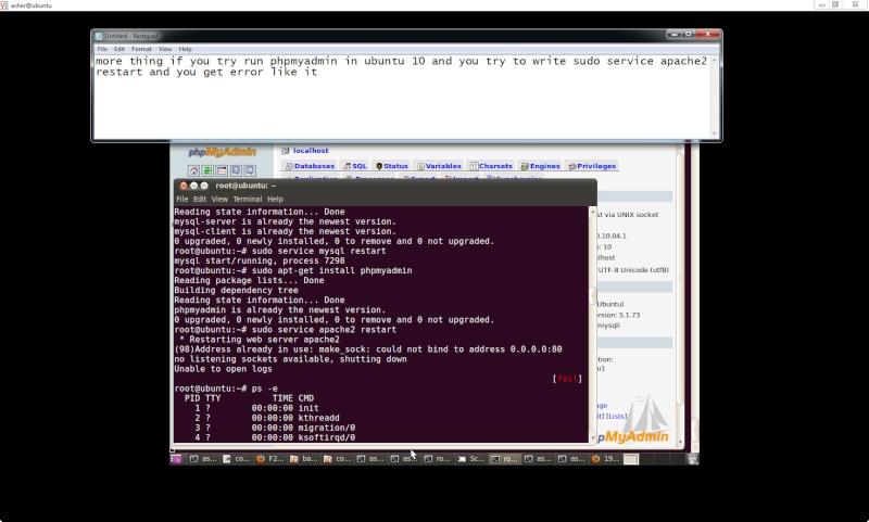 Guide install PhpmyAdmin in ubuntu  Php110