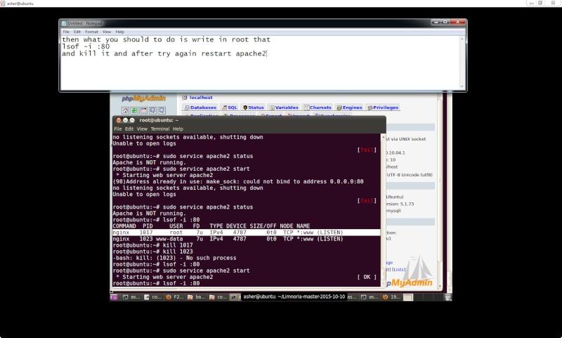 Guide install PhpmyAdmin in ubuntu  Php210