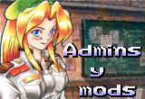 Administradores y moderadores