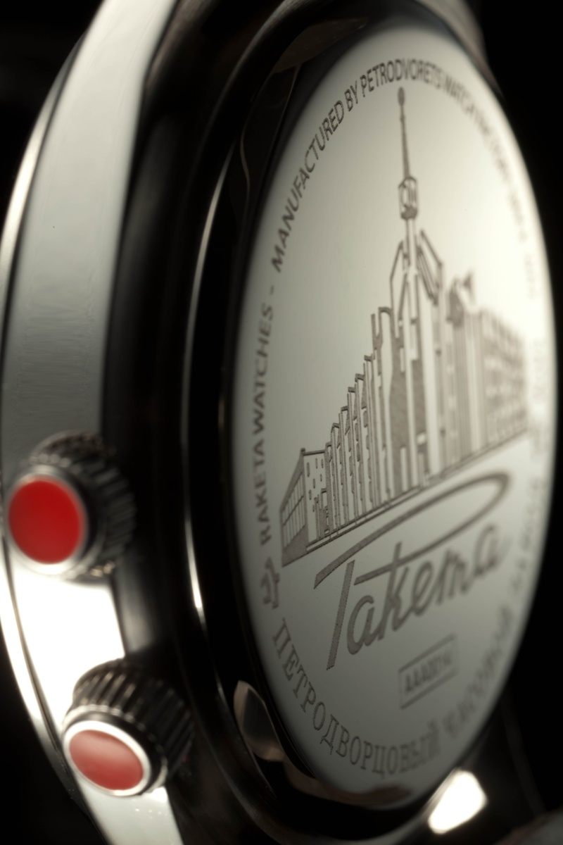 Images de la Nouvelle Collection Raketa Ethern14
