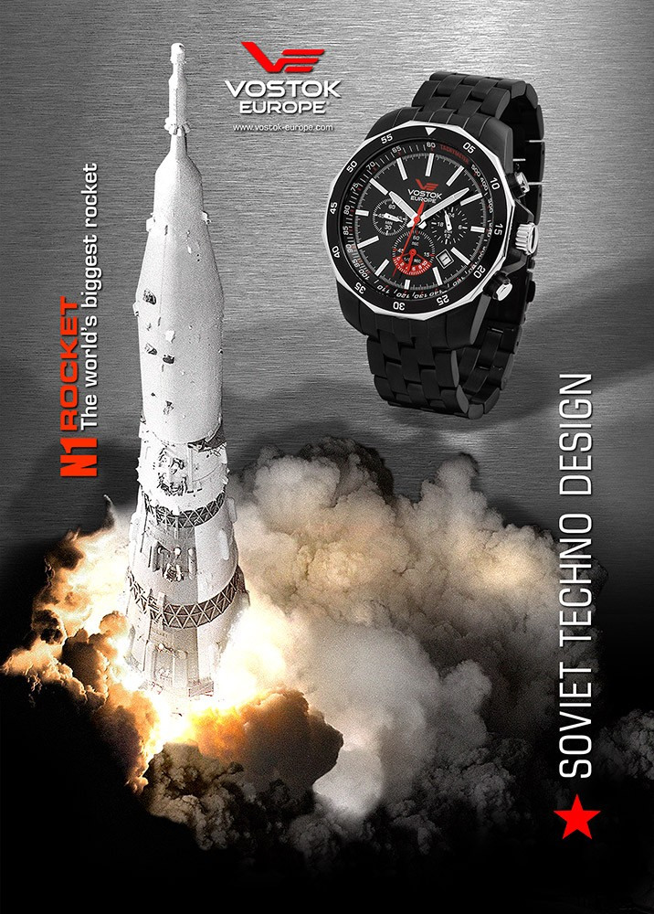 Vostok-Europe Rocket N1 R-rock10
