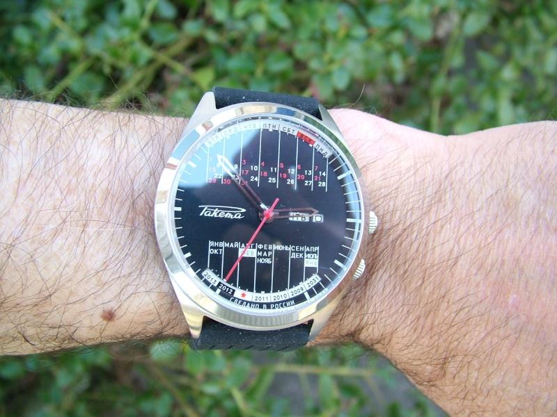 Quelle est la montre russe que vous portez le plus souvent? Raketa30