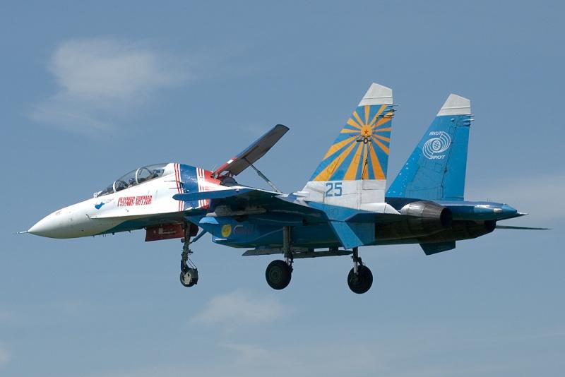 Aviator et la Patrouille de l'Air Russe Su-27_10