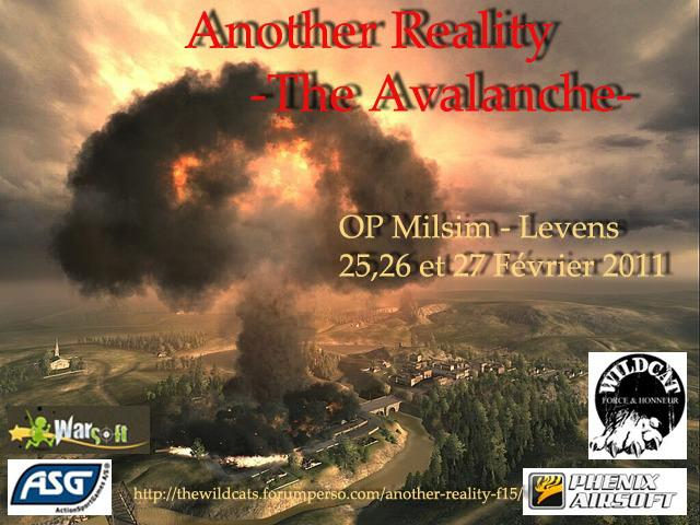 Another Reality I 'The Avalanche' - OP Milsim sur Levens Affich11