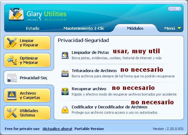 LIMPIEZA DE ORDENADOR / LIMPIEZA DE PC Glarys10
