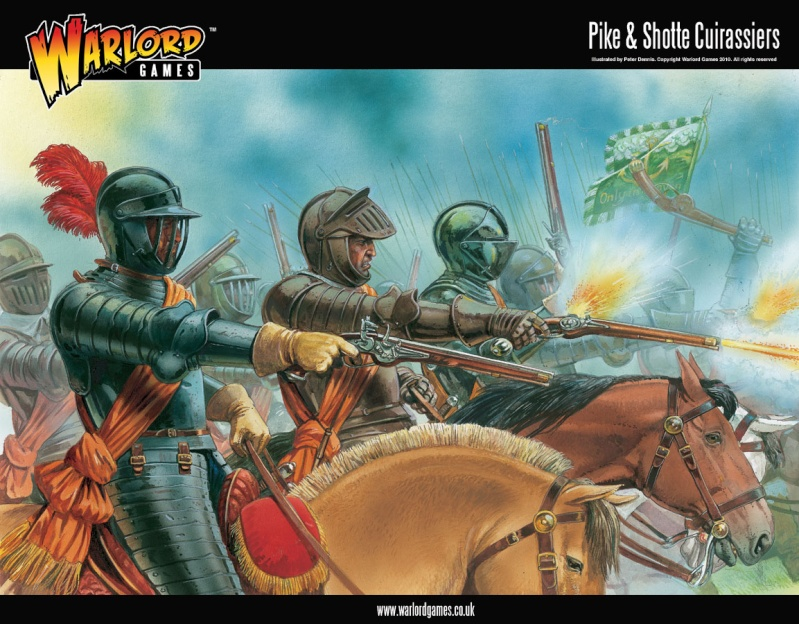 Warlord Games new Pike and Shotte Set in plastic 28mm - Cuirassiers Cuiras11