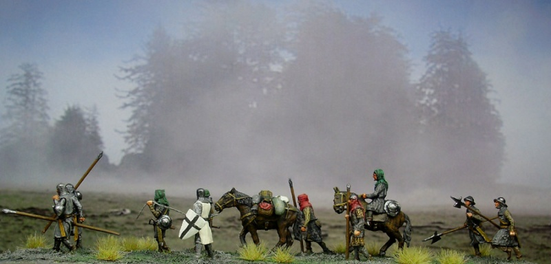 Teutonic knights in 1:72 scale - Page 4 Mediev12