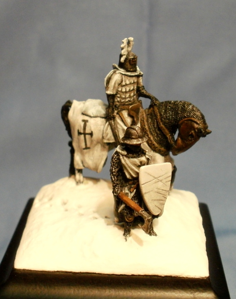 Teutonic Hochmeister and sergeant in 1:72 Teuton10