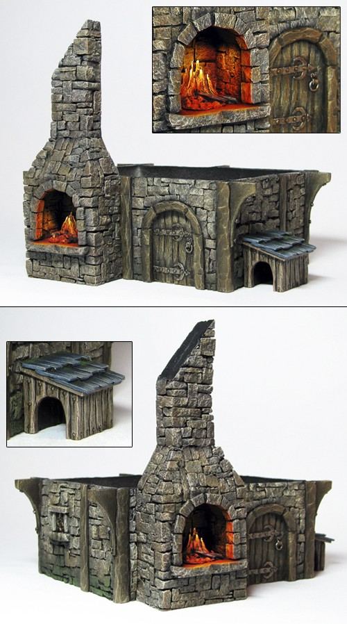 The armourer's shop 1:72 scale - Page 2 Wip-310