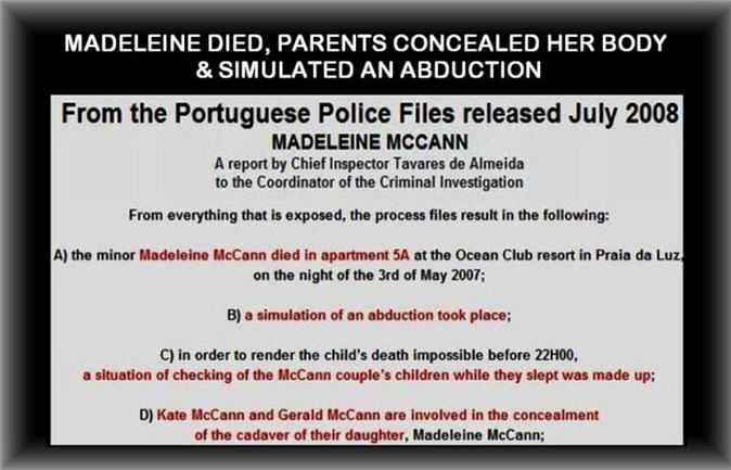 When did Madeleine McCann really disappear? Maddie13