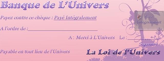 Chèque d'Abondance Chyque10