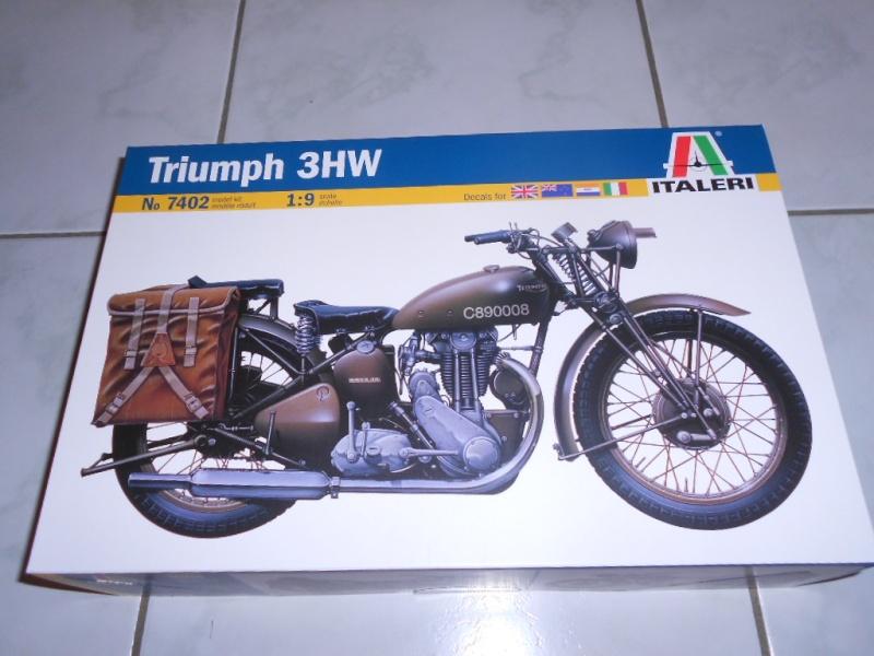 triumph - Triumph 3HW 350 cc. Italeri 1/9. Dscn5264