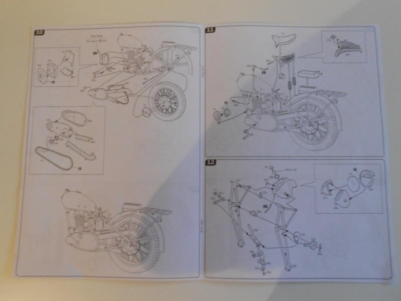 triumph - Triumph 3HW 350 cc. Italeri 1/9. Dscn5324
