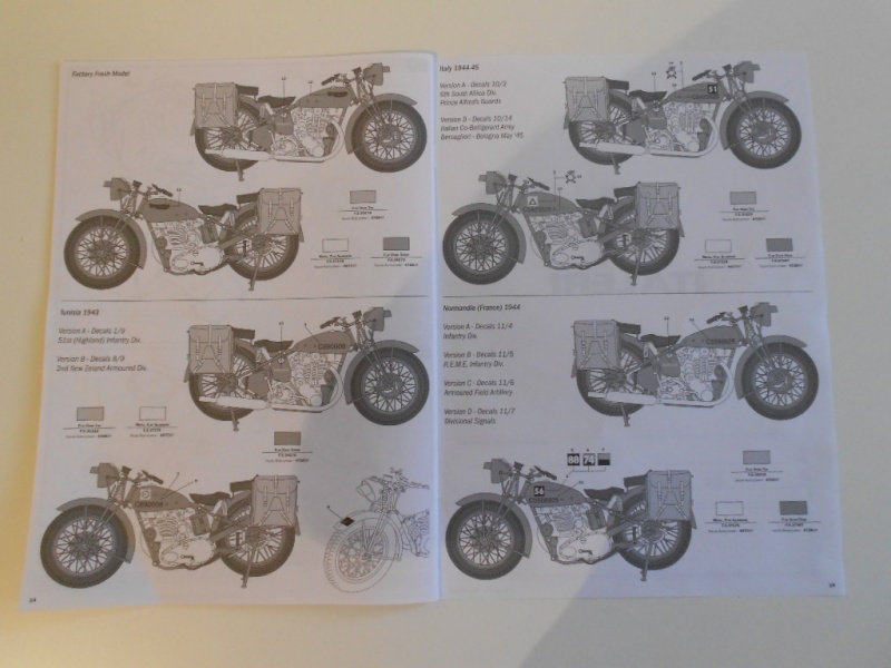 triumph - Triumph 3HW 350 cc. Italeri 1/9. Dscn5327