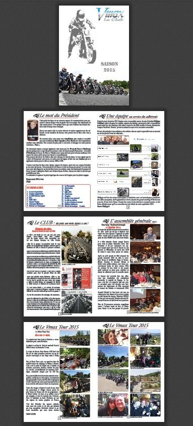 brochure des événements du club - 2015 Brochu10
