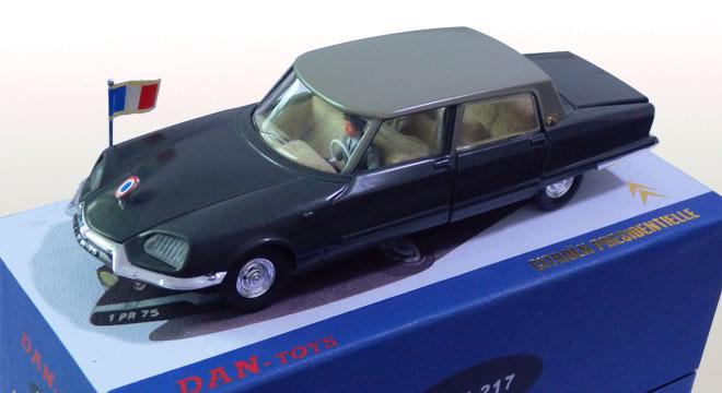 Citroen Présidentielle par Dan Toys Dan-2110