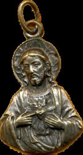 Médaille Sacré Coeur de Jésus.  XIXe-XXe Projet11