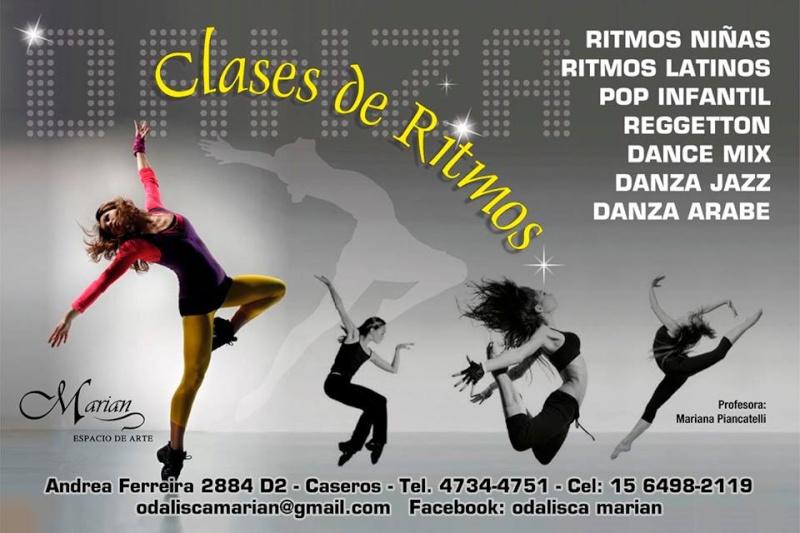 """En Caseros, la danza tiene nombre... """"Majestic"""". Aviso_17"""