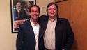 Escobar: Ariel Sujarchuk se reunió con Máximo y Alicia Kirchner. 00146