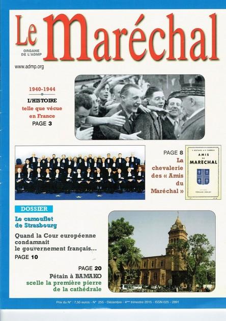 ADMP : Association pour la mémoire du Maréchal Pétain. Le-mar10