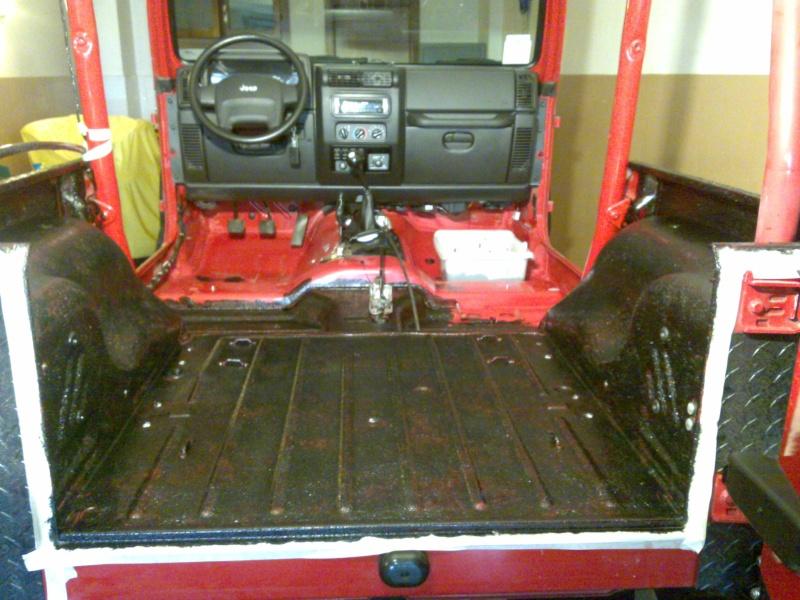New Project: CARONTE is in progress...rivestimento interno scocca tipo pick up Prima110