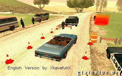 Police Stop (English Version) Blitze10