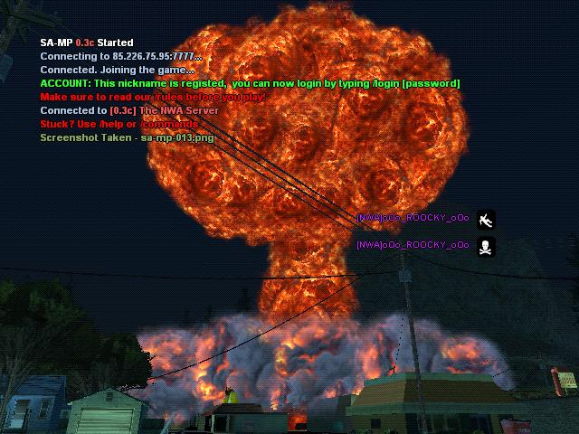 some screenshots from the nuke! Galler13