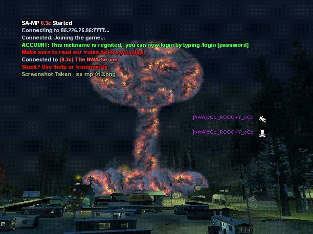 some screenshots from the nuke! Galler14