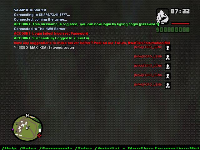 spam kill bug Sa-mp-11