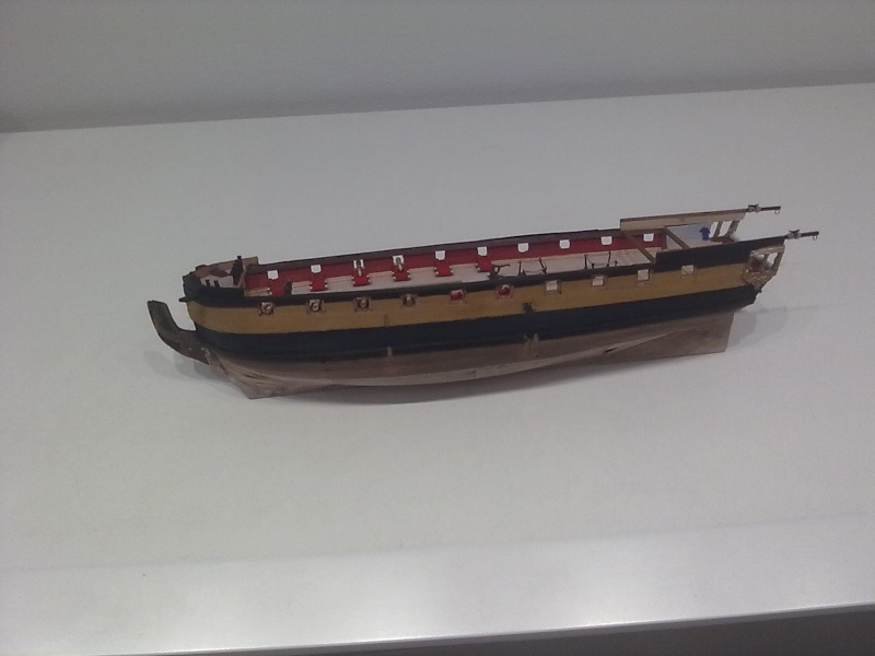 Fregata britannica del secolo XVIII 15052010