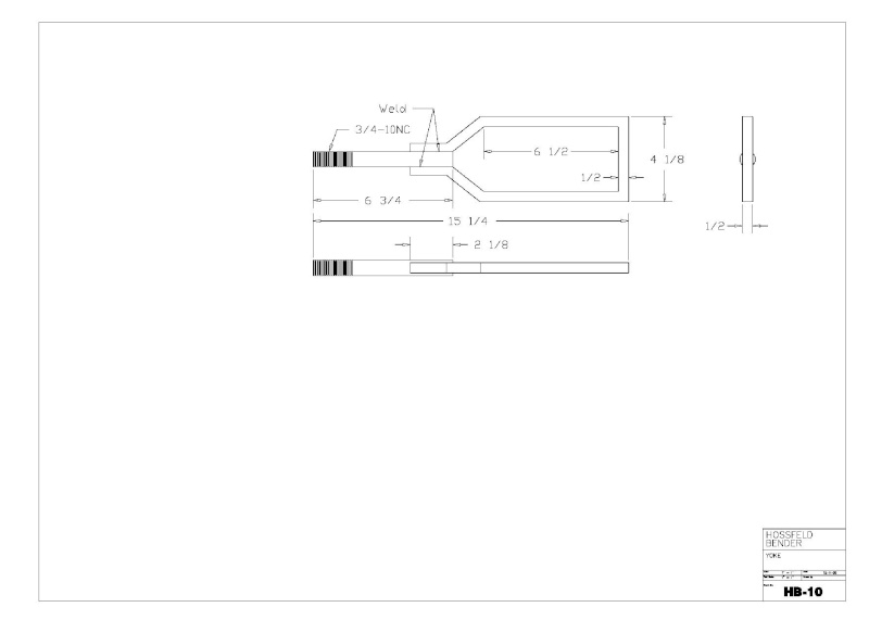 Plans to Build a Hosfeld Bender Hb_1010