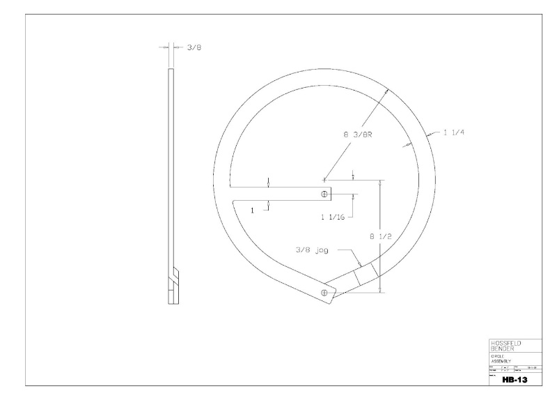 Plans to Build a Hosfeld Bender Hb_1310