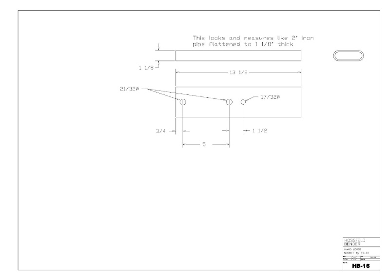 Plans to Build a Hosfeld Bender Hb_1610