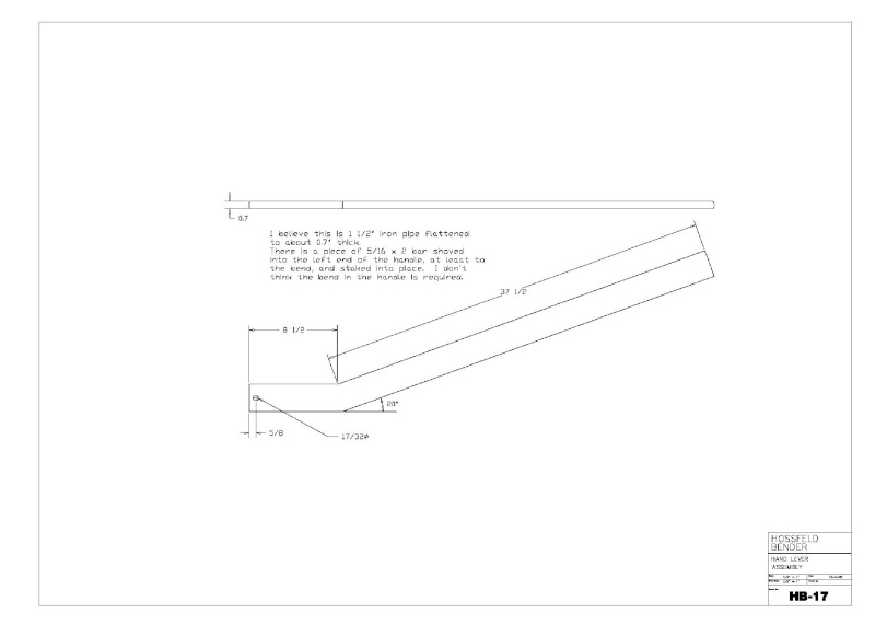 Plans to Build a Hosfeld Bender Hb_1710