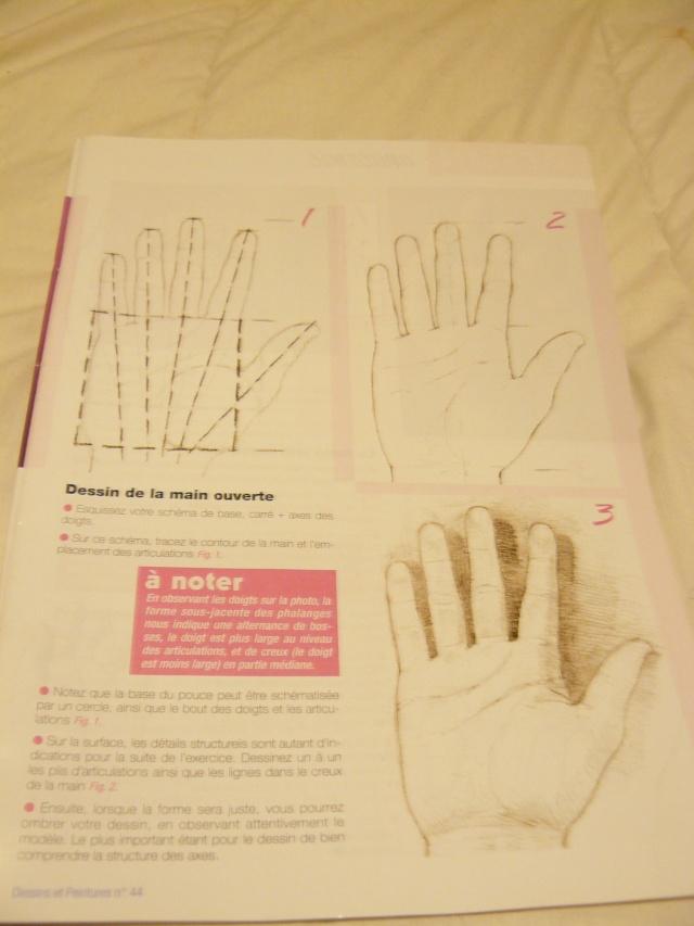 Comment dessiner les mains ? 00510
