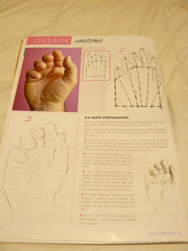 Comment dessiner les mains ? 00610