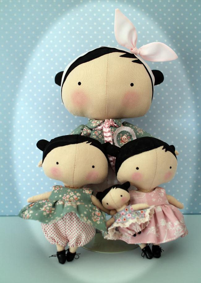 Les nouvelles poupées Tilda et les miennes Toybox13