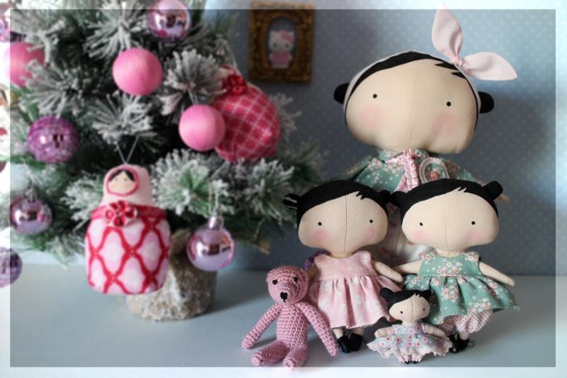 Les nouvelles poupées Tilda et les miennes Toybox15